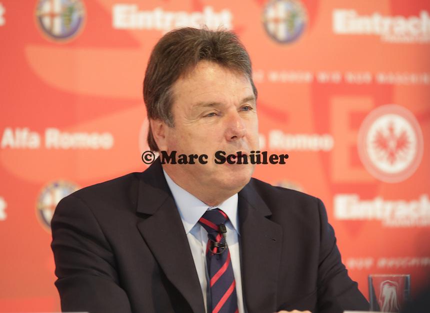 Vorstandsvorsitzender Heribert Bruchhagen (Eintracht) - Trikotpraesentation Eintracht Frankfurt