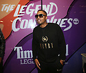 Nas is seen at the launch for Foot Locker and Timberland Fall 2017 Legends Collection in New York on Sept. 19, 2017.