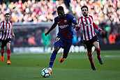 18th March 2018, Camp Nou, Barcelona, Spain; La Liga football, Barcelona versus Athletic Bilbao; Lionel Messi of FC Barcelona breaks forward and chased  by Benat Etxebarria of Athletic Bilbao