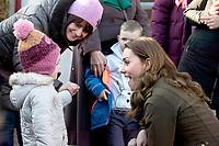 Duchess of Cambridge Visits Ark Open Farm