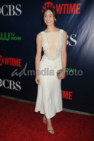 10 August 2015 - West Hollywood, California - Emmy Rossum. CBS, CW, Showtime 2015 Summer TCA Party held at The Pacific Design Center. Photo Credit: Byron Purvis/AdMedia