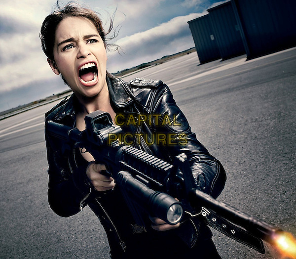 Emilia Clarke<br /> in Terminator: Genisys (2015) <br /> *Filmstill - Editorial Use Only*<br /> CAP/NFS<br /> Image supplied by Capital Pictures