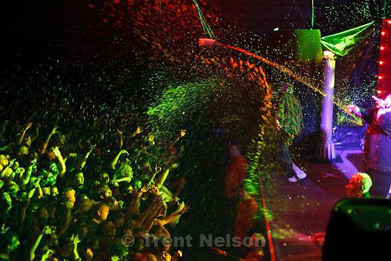 Trent Nelson  |  The Salt Lake Tribune.Insane Clown Posse performs at The Great Salt Air (Saltair) Thursday, October 1 2009 west of Salt Lake City.