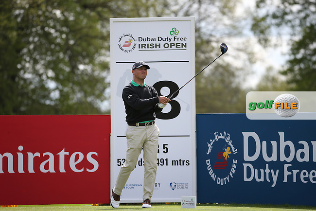 Niclas Fasth (SWE) during Round One of the 2016 Dubai Duty Free Irish Open Hosted by The Rory Foundation which is played at the K Club Golf Resort, Straffan, Co. Kildare, Ireland. 19/05/2016. Picture Golffile | David Lloyd.<br /> <br /> All photo usage must display a mandatory copyright credit as: &copy; Golffile | David Lloyd.