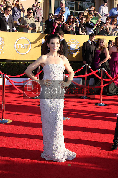 Julianna Margulies<br /> at the 18th Annual Screen Actors Guild Awards Arrivals, Shrine Auditorium, Los Angeles, CA 01-29-12<br /> David Edwards/DailyCeleb.com 818-249-4998