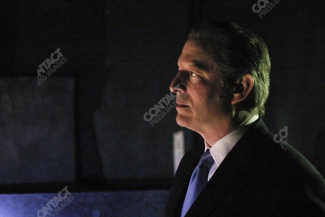 Al Gore  before a MoveOn.org speech. DAR Constitution Hall, Washington, D.C., November 9, 2003