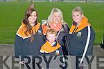 TOURNAMENT: Enjoying the fun at the Patrick O'Mahony senior hurling tournament at Ballyheigue on Saturday l-r: Ailín O'Mahony, Michelle O'Brien, Eimear O'Mahony and Luke O'Mahony.