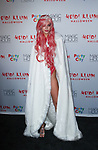 Mariah Strongin arrives at Heidi Klum's 18th Annual Halloween Party presented by Party City and SVEDKA Vodka at Magic Hour Rooftop Bar & Lounge at Moxy Times Square, on October 31, 2017.