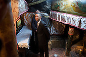 United States President Barack Obama tours the crypt containing the birthplace of Jesus during his visit to the Church of the Nativity in Bethlehem, the West Bank, March 22, 2013. .Mandatory Credit: Pete Souza - White House via CNP