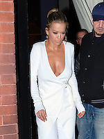 www.acepixs.com<br /> <br /> February 7 2017, New York City<br /> <br /> Singer Rita Ora wears a white pant suit as she leaves a downtown hotel on February 7 2017 in New York City<br /> <br /> By Line: Curtis Means/ACE Pictures<br /> <br /> <br /> ACE Pictures Inc<br /> Tel: 6467670430<br /> Email: info@acepixs.com<br /> www.acepixs.com
