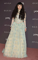 LOS ANGELES, CA - NOVEMBER 04:  Asia Chow attends the 2017 LACMA Art + Film Gala Honoring Mark Bradford and George Lucas presented by Gucci at LACMA on November 4, 2017 in Los Angeles, California.<br /> CAP/ROT/TM<br /> &copy;TM/ROT/Capital Pictures