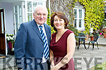 Bertie Ahern with Joan O'Connor - Proprietor Kilcooly's Country House Hotel and Women In Media, Ballybunion ion Sunday.