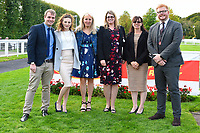 Sponsors Corintech during Afternoon Racing at Salisbury Racecourse on 4th October 2017