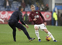 Burnley's Ben Mee during the pre-match warm-up <br /> <br /> Photographer Rich Linley/CameraSport<br /> <br /> The Premier League - Burnley v Brighton and Hove Albion - Saturday 8th December 2018 - Turf Moor - Burnley<br /> <br /> World Copyright © 2018 CameraSport. All rights reserved. 43 Linden Ave. Countesthorpe. Leicester. England. LE8 5PG - Tel: +44 (0) 116 277 4147 - admin@camerasport.com - www.camerasport.com