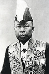 Undated - Matajiro Koizumi (1865-1951), grandfather of Junichiro Koizumi. He was the Minister of Posts and Telecommunications in Japan, known as 'irezumi minister'. (Photo by Kingendai Photo Library/AFLO)
