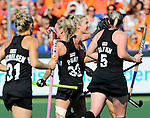 The Hague, Netherlands, June 07: During the field hockey group match (Group A) between Japan and New Zealand´s Black Sticks on June 7, 2014 during the World Cup 2014 at GreenFields Stadium in The Hague, Netherlands. Final score 1-4 (0-1) (Photo by Dirk Markgraf / www.265-images.com) *** Local caption ***