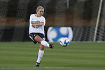 05 December 2008: Notre Dame's Julie Scheidler. The Notre Dame Fighting Irish defeated the Stanford Cardinal 1-0 at WakeMed Soccer Park in Cary, NC in an NCAA Division I Women's College Cup semifinal game.
