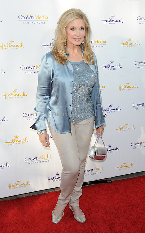 Morgan Fairchild arriving at the Hallmark Channel And Hallmark Movies Summer 2014 Television Critics Association Celebration in Beverly Hills Ca. July 8,, 2014.