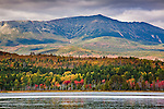 Mt Katahdin towers over Baxter State Park, ME, USA
