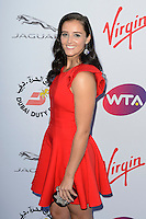 Laura Robson at WTA Pre-Wimbledon Party at Kensignton Roof Gardens, London.<br /> June 25, 2015  London, UK<br /> Picture: Dave Norton / Featureflash