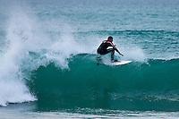 Europe/France/Aquitaine/64/Pyrénées-Atlantiques/Pays Basque/Biarritz: Surfer à la Plage de la Milady [Non destiné à un usage publicitaire - Not intended for an advertising use]