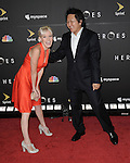 Brea Grant and Masi Oka at the Heroes Countdown To The Premiere held at the Edison Lounge Los Angeles, Ca. September 7, 2008. Fitzroy Barrett