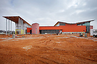 STAFF PHOTO BEN GOFF  @NWABenGoff -- 12/12/14 A view of the Amazeum under construction in Bentonville on Friday Dec. 12, 2014.