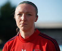 20191027 - Boreham Wood: Arsenal's Louise Quinn is pictured before  the Barclays FA Women's Super League match between Arsenal Women and Manchester City Women on October 27, 2019 at Boreham Wood FC, England. PHOTO:  SPORTPIX.BE | SEVIL OKTEM