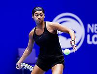 Rotterdam, Netherlands, December 16, 2017, Topsportcentrum, Ned. Loterij NK Tennis, Semi final women, Dinah Cameron (NED)<br /> Photo: Tennisimages/Henk Koster