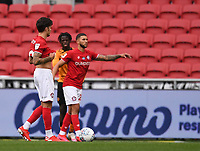 8th July 2020; Ashton Gate Stadium, Bristol, England; English Football League Championship Football, Bristol City versus Hull City; Jamie Paterson of Bristol City lines up a free kick