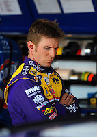 Apr 17, 2009; Avondale, AZ, USA; NASCAR Sprint Cup Series driver Jamie McMurray during practice for the Subway Fresh Fit 500 at Phoenix International Raceway. Mandatory Credit: Mark J. Rebilas-