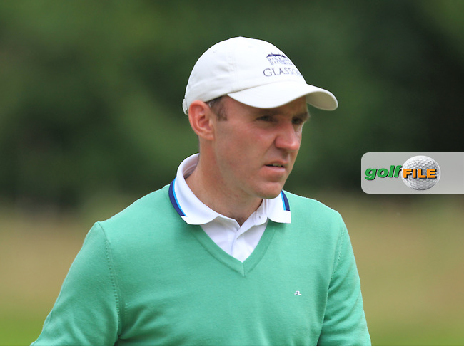 Colm Moriarty (IRL) on the 1st green during Round 3 of the Tayto Northern Ireland Open in partnership with Ulster Bank at Galgorm Castle Golf Club, Ballymena Co. Antrim on Saturday 30th July 2016.<br /> Picture:  Golffile | Thos Caffrey<br /> <br /> All photos usage must carry mandatory copyright credit   (&copy; Golffile | Thos Caffrey)