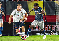 College Park, MD. - Monday, October  14, 2019: Georgetown University defeated the University of Maryland 1-0 in a college match at Ludwig Field.