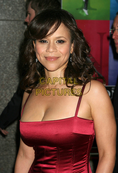 ROSIE PEREZ.The 60th annual Tony Awards held at Radio City Music Hall, New York, NY, USA..June 11th, 2006.Ref: IW.headshot portrait cleavage red satin  .www.capitalpictures.com.sales@capitalpictures.com.©Capital Pictures