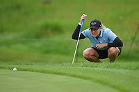 Cristie Kerr (USA) looks over her putt on 11 during the round 2 of the KPMG Women's PGA Championship, Hazeltine National, Chaska, Minnesota, USA. 6/21/2019.<br /> Picture: Golffile | Ken Murray<br /> <br /> <br /> All photo usage must carry mandatory copyright credit (© Golffile | Ken Murray)