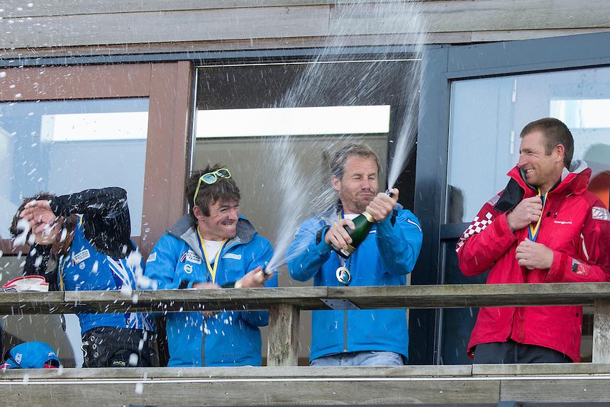 Delta Lloyd Regatta | Day 4 | Winner 49er : (GBR) FLETCHER Dylan - SIGN Alain | Medemblik (NED) | Photo : Guilain GRENIER