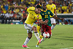 Radamel Falcao of Colombia and Ngwemi of Camerun during the friendly match between Camerun and Colombia in Madrid, Spain 13 jun 2017.(ALTERPHOTOS/Rodrigo Jimenez)