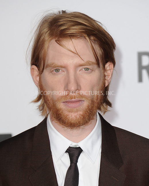 WWW.ACEPIXS.COM<br /> <br /> December 16 2015, LA<br /> <br /> Domhnall Gleeson arriving at the premiere of 'The Revenant' at the TCL Chinese Theatre on December 16, 2015 in Hollywood, California.<br /> <br /> <br /> By Line: Peter West/ACE Pictures<br /> <br /> <br /> ACE Pictures, Inc.<br /> tel: 646 769 0430<br /> Email: info@acepixs.com<br /> www.acepixs.com