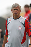 31 March 2007: Toronto assistant coach Bob Gansler.  The United Soccer League Division 1 Charleston Battery lost to Major League Soccer expansion team Toronto FC 3-0 in a preseason game at Blackbaud Stadium on Daniel Island in Charleston, SC, as part of the Carolina Challenge Cup.