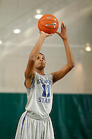April 8, 2011 - Hampton, VA. USA; Jaron Blossomgame participates in the 2011 Elite Youth Basketball League at the Boo Williams Sports Complex. Photo/Andrew Shurtleff
