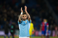 Manchester City's Kyle Walker applauds the fans at the final whistle <br /> <br /> Photographer Craig Mercer/CameraSport<br /> <br /> UEFA Champions League Round of 16 First Leg - Basel v Manchester City - Tuesday 13th February 2018 - St Jakob-Park - Basel<br />  <br /> World Copyright &copy; 2018 CameraSport. All rights reserved. 43 Linden Ave. Countesthorpe. Leicester. England. LE8 5PG - Tel: +44 (0) 116 277 4147 - admin@camerasport.com - www.camerasport.com