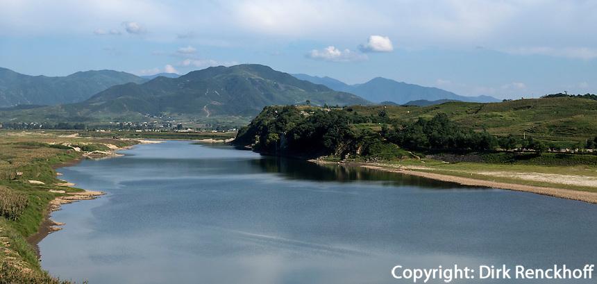Fahrt in die Myohyang-Berge, Nordkorea, Asien