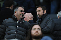 England manager Gareth Southgate during Newcastle United vs Swansea City, Premier League Football at St. James' Park on 13th January 2018