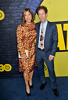 "LOS ANGELES, USA. October 15, 2019: Tim Blake Nelson & Lisa Benavides-Nelson at the premiere of HBO's ""Watchmen"" at the Cinerama Dome, Hollywood.<br /> Picture: Paul Smith/Featureflash"