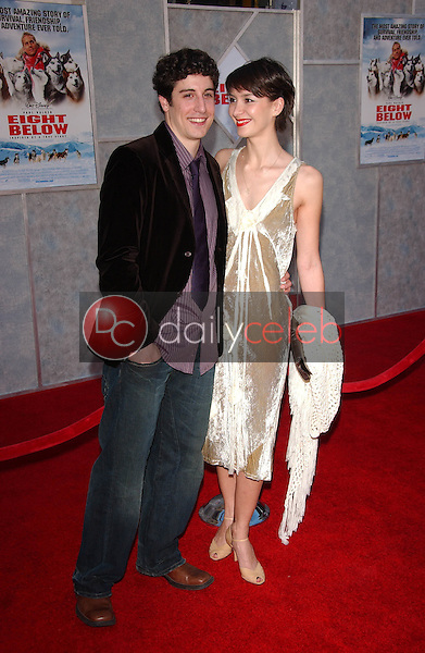 Jason Biggs and Lindsay Zir<br />