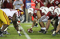 4 November 2006: Alex Fletcher during Stanford's 42-0 loss to USC at Stanford Stadium in Stanford, CA.
