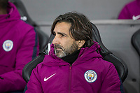 Manchester City coach Lorenzo Buenaventura ahead of the EPL - Premier League match between Swansea City and Manchester City at the Liberty Stadium, Swansea, Wales on 13 December 2017. Photo by Mark  Hawkins / PRiME Media Images.