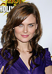 HOLLYWOOD, CA. - August 16: Actress Emily Deschanel arrives at the third annual Hot in Hollywood held at Avalon on August 16, 2008 in Hollywood, California.