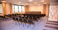 16-9-09, Netherlands,  Maastricht, Tennis, Daviscup Netherlands-France, Training, Presscenter, interview room