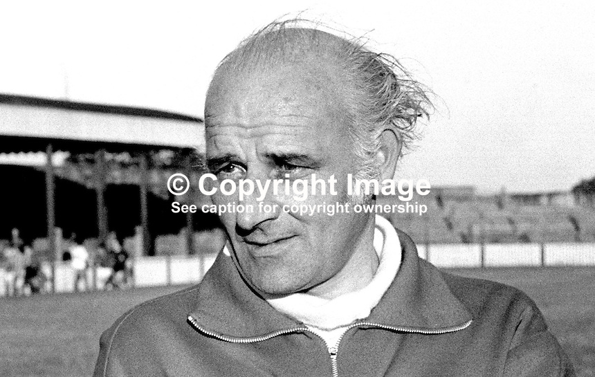 Kevin McGarry, manager, Cliftonville FC, Belfast, N Ireland, former player, Irish International, 197208000478<br /> <br /> Copyright Image from Victor Patterson, 54 Dorchester Park, Belfast, UK, BT9 6RJ<br /> <br /> Tel: +44 28 9066 1296<br /> Mob: +44 7802 353836<br /> Voicemail +44 20 8816 7153<br /> Skype: victorpattersonbelfast<br /> Email: victorpatterson@me.com<br /> Email: victor@victorpatterson.com (back-up)<br /> <br /> IMPORTANT: If you wish to use this image or any other of my images please go to www.victorpatterson.com and click on the Terms &amp; Conditions. Then contact me by email or phone with the reference number(s) of the image(s) concerned.